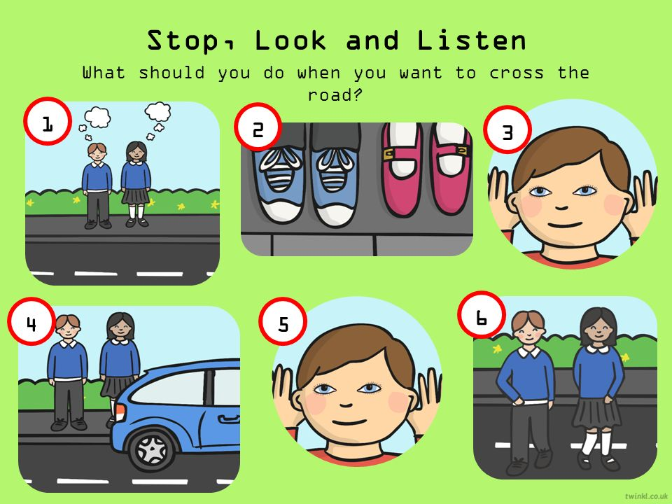 Stop! Look! Listen! Think! | LearnEnglish Kids | British ...